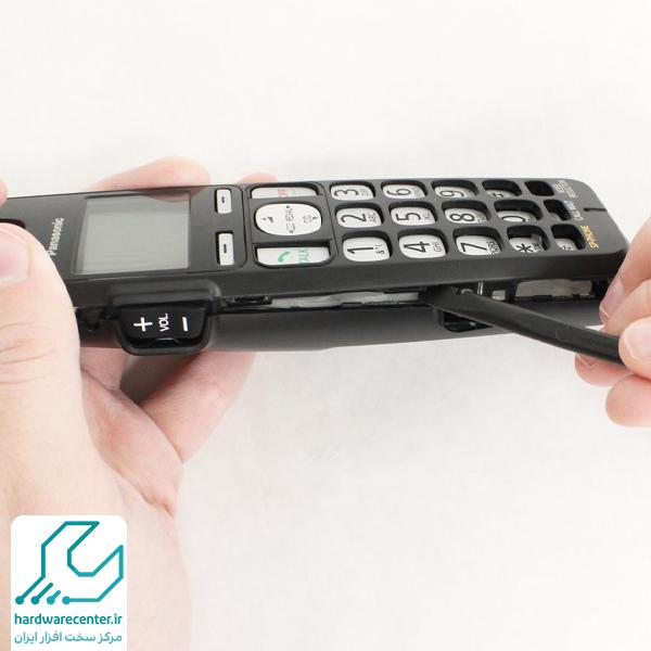 تعمیر صفحه کلید تلفن پاناسونیک