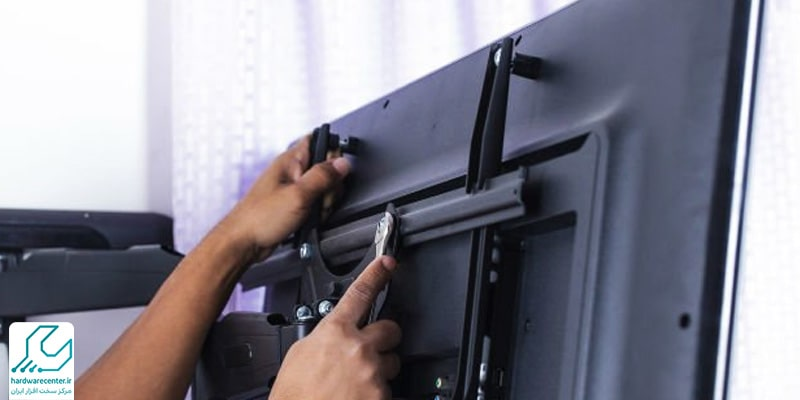 نصب پایه تلویزیون رومیزی